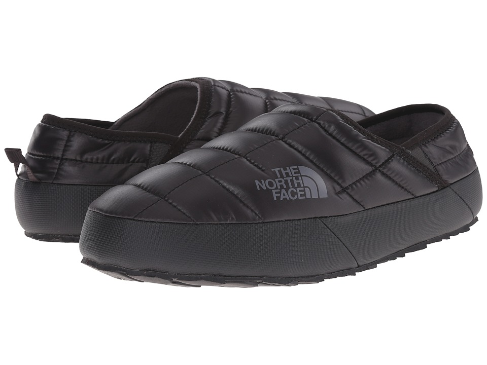 The North Face ThermoBall Traction Mule II (Shiny TNF Black/Zinc Grey) Men