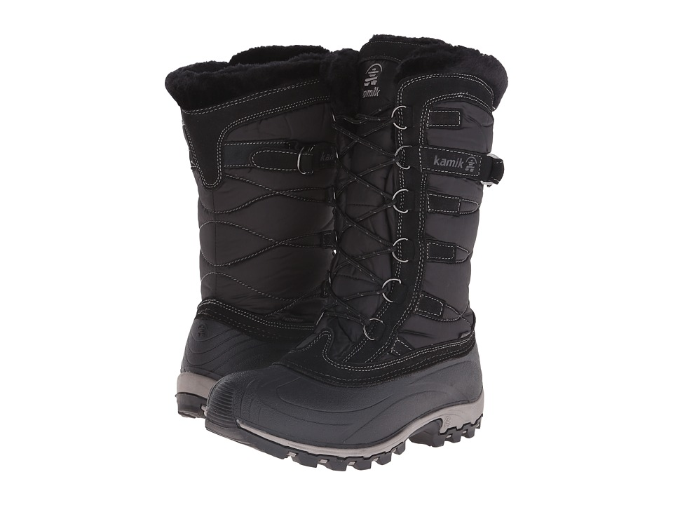 Kamik Snowvalley Black 1 Womens Cold Weather Boots