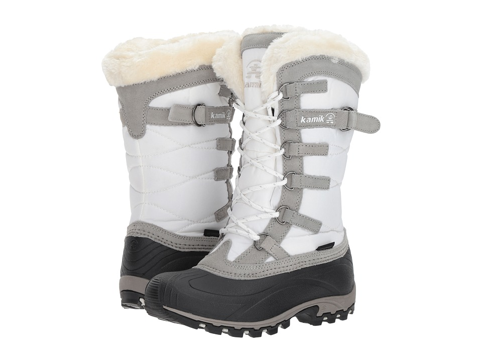 Kamik Snowvalley White 1 Womens Cold Weather Boots