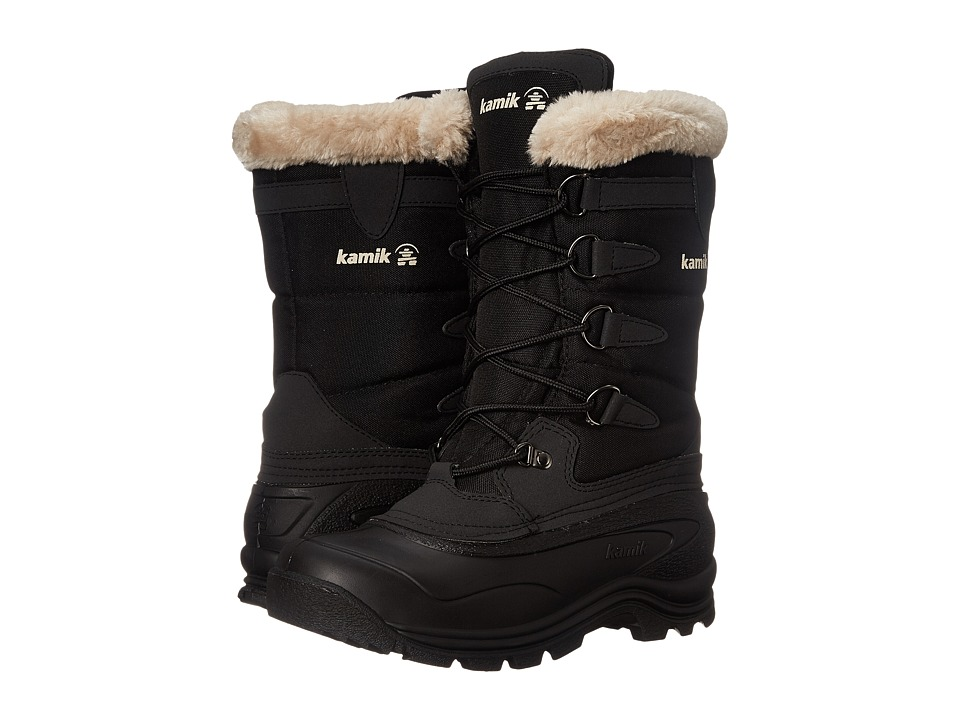 Kamik Shellback Black Womens Cold Weather Boots