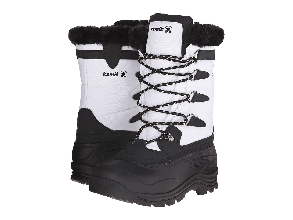 Kamik Shellback White Womens Cold Weather Boots
