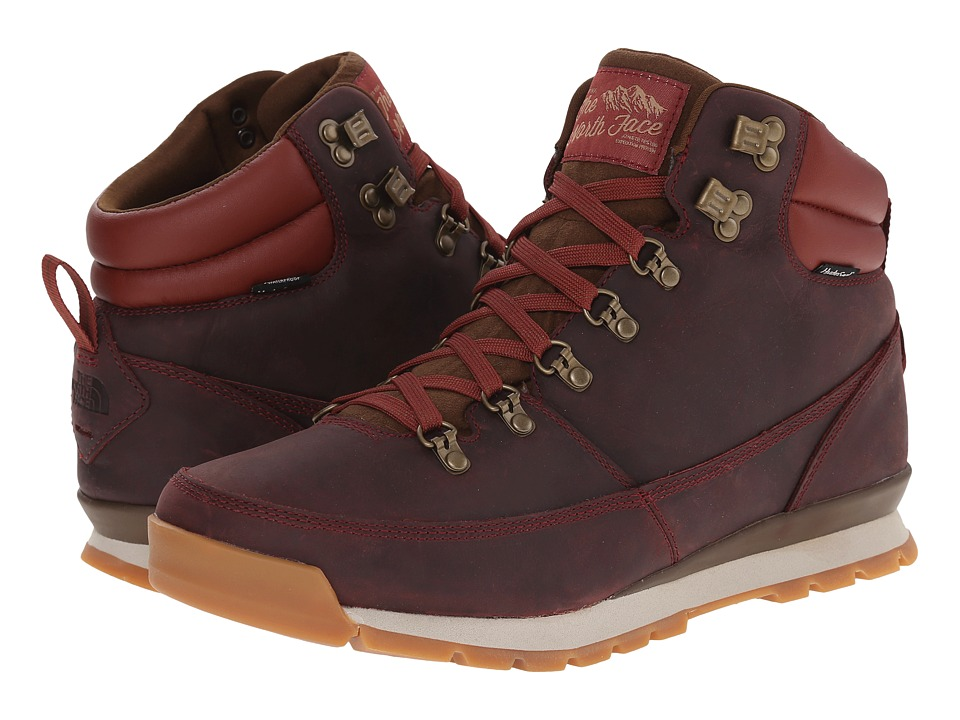 The North Face Back-To-Berkeley Redux Leather (Brick House Red/Desert Palm Brown) Men