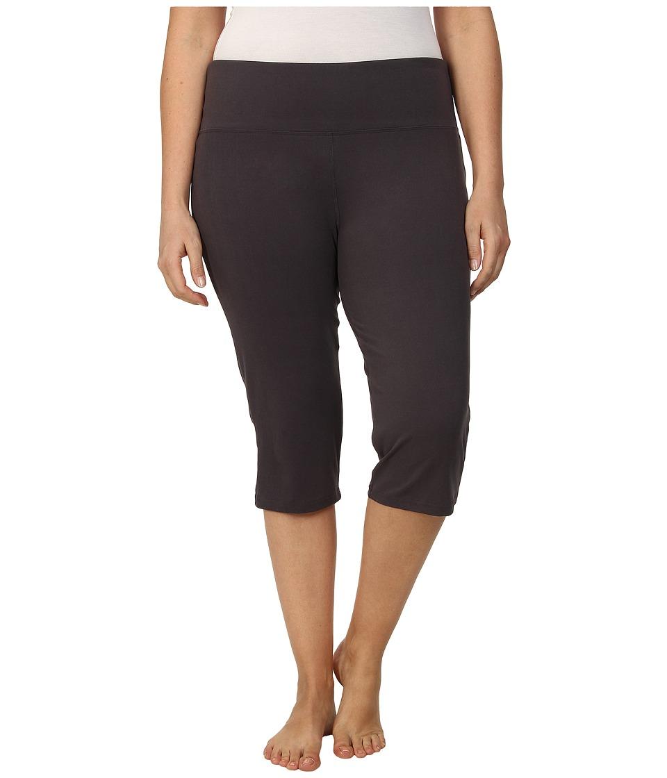 Marika Curves - Plus Size High Rise Tummy Control Capris (Nine Iron) Women's Workout plus size,  plus size fashion plus size appare
