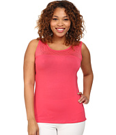 Marika Curves - Plus Size Alex Illusion Tank Top
