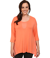 Marika Curves - Plus Size Shelly Sharkbite Tunic