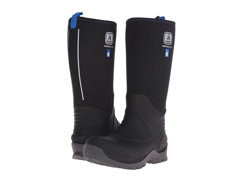 Kamik - Barrel (Black) Mens Cold Weather Boots