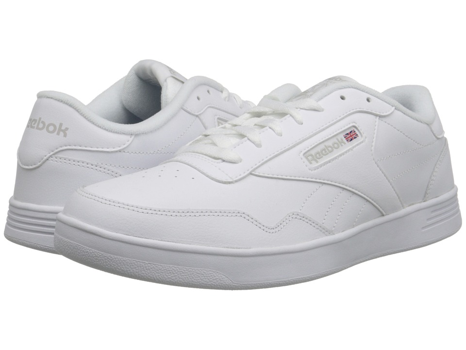 Reebok Lifestyle - Club Memt (White/Steel) Men's Classic ...