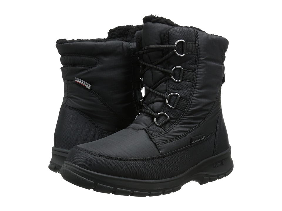 Kamik Baltimore Black 1 Womens Cold Weather Boots