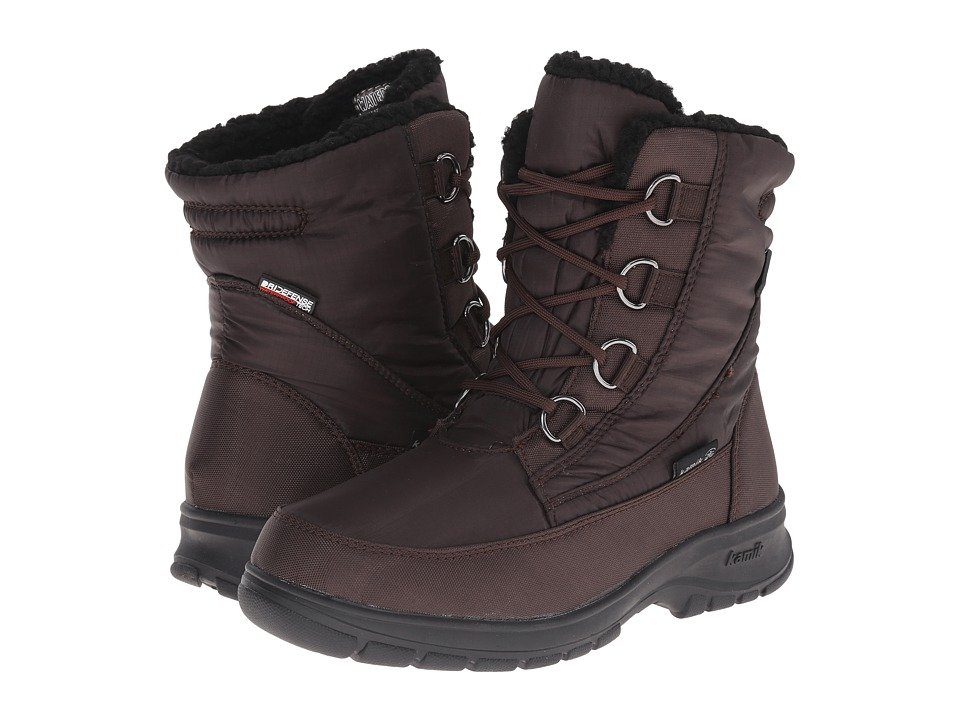 Kamik Baltimore Dark Brown 1 Womens Cold Weather Boots