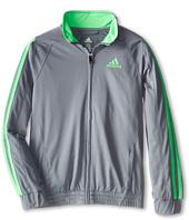 adidas Kids - Loose Core Full Zip Jacket (Little Kids/Big Kids)