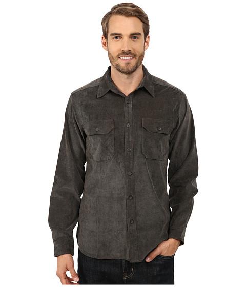 Royal Robbins Grid Cord Long Sleeve Shirt - Petrified Oak