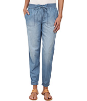 Calvin Klein Jeans - Drawstring Denim Pants in Colbalt Blue