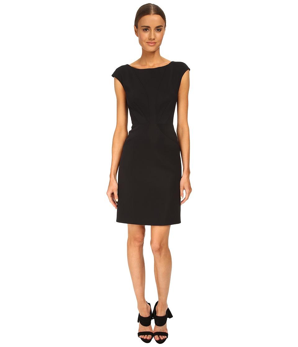 Zac Posen 06 5257 46 Jet Black Womens Dress