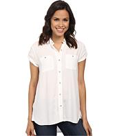 Calvin Klein Jeans - Cap Sleeve Utility Shirt