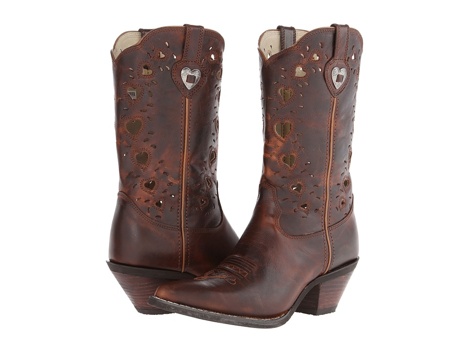 Durango - Crush Heart (Saddle Brown) Cowboy Boots