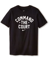 Nike Kids - NA Cotton Command The Court Tee (Little Kids/Big Kids)