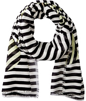 Marc by Marc Jacobs - Peephole Logo Scarf