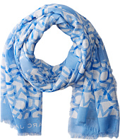 Marc by Marc Jacobs - Abstract Logo Scarf