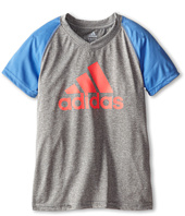 adidas Kids - CLIMALITE® S/S Color Block Raglan (Big Kids)