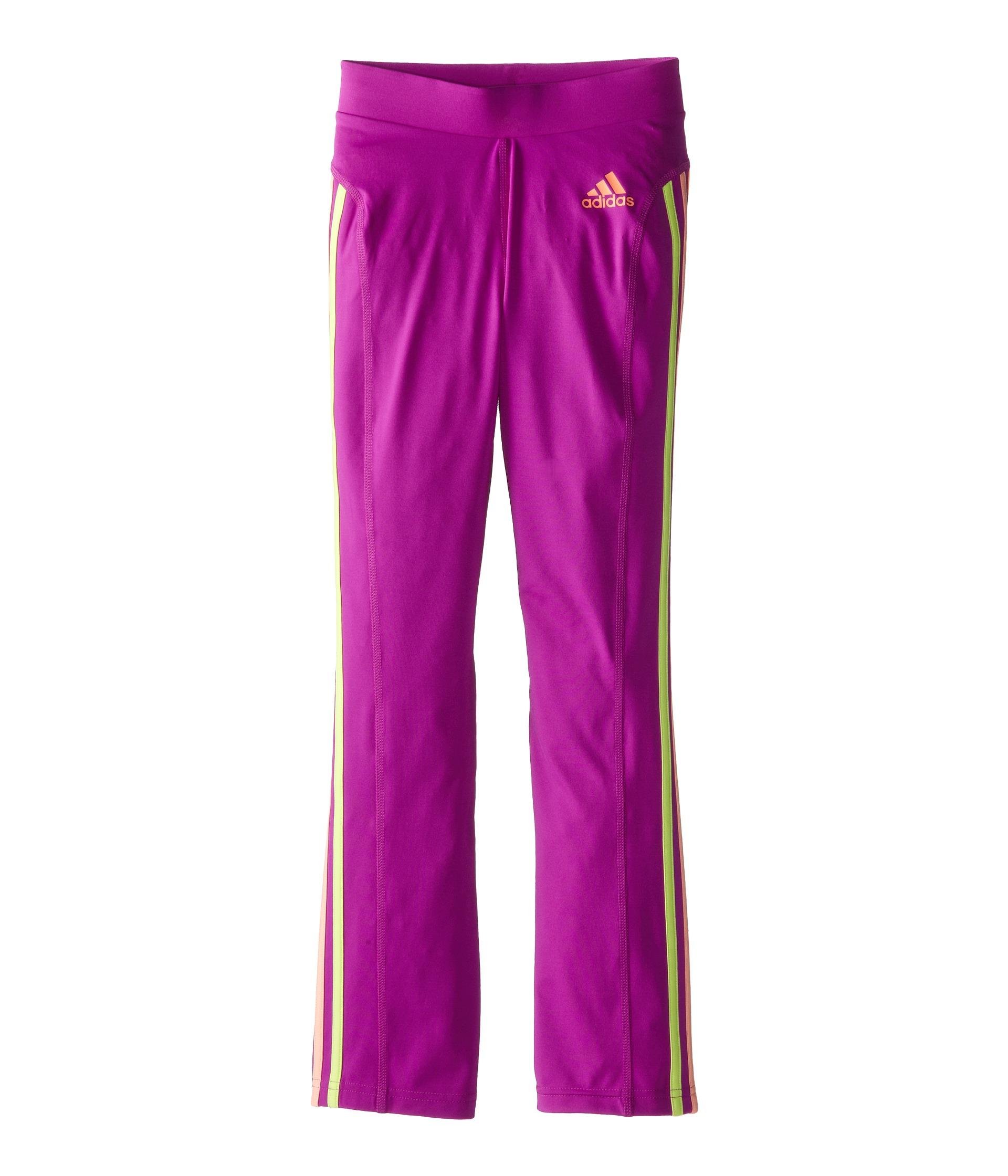 Adidas Kids Yoga Pants W Color Stripes Big Kids