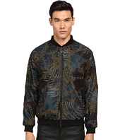 Versace Jeans - Tiger Chains Mesh Overlay Bomber