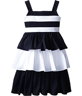 Oscar de la Renta Childrenswear - Cotton Dress with Layered Skirt (Toddler/Little Kids/Big Kids)