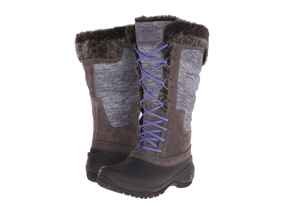 The North Face Shellista II Tall (Plum Kitten Grey/Deep Wisteria Purple (Prior Season)) Women's Cold Weather Boots