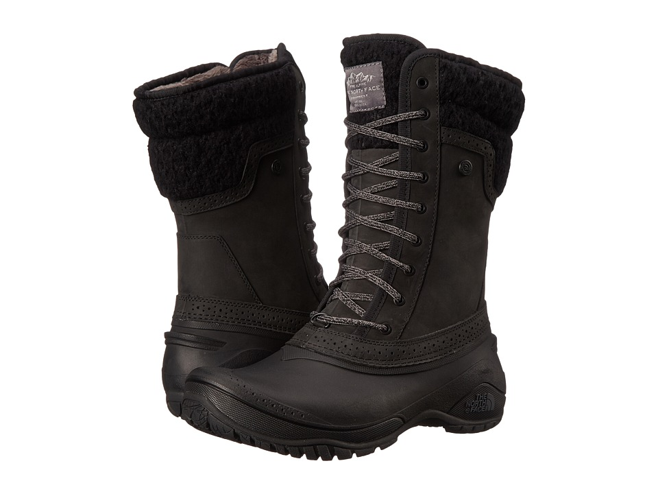 The North Face - Shellista II Mid (TNF Black/Plum Kitten Grey) Women