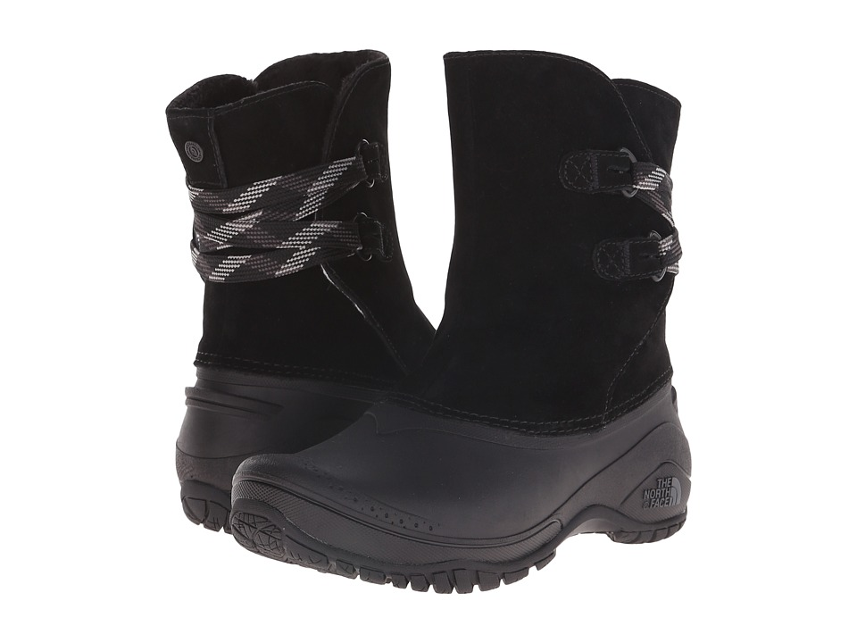 The North Face Shellista II Pull-On (TNF Black/Plum Kitten Grey (Prior Season)) Women's Cold Weather Boots