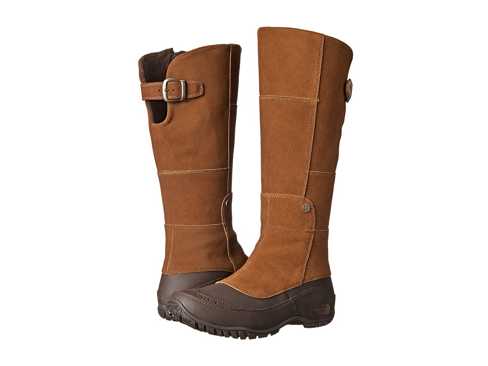 The North Face Anna Purna Tall (Desert Palm Brown/Ganache Brown (Prior Season)) Women's Cold Weather Boots