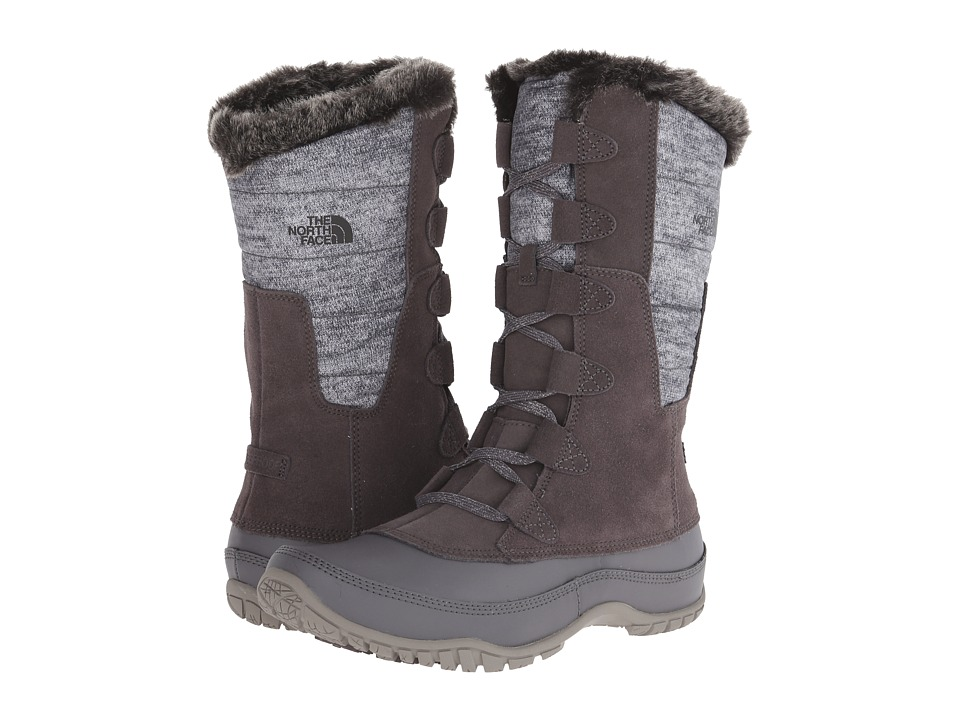 The North Face Nuptse Purna (Plum Kitten Grey/Steeple Grey (Previous Season)) Women's Cold Weather Boots