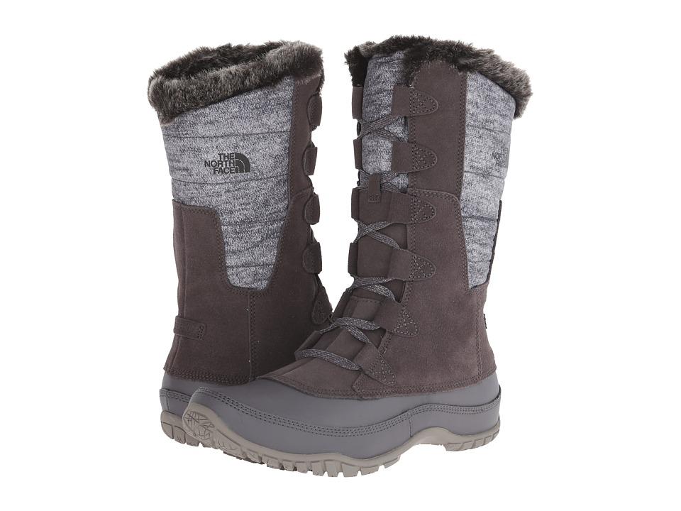 The North Face Nuptse Purna (Plum Kitten Grey/Steeple Grey) Women