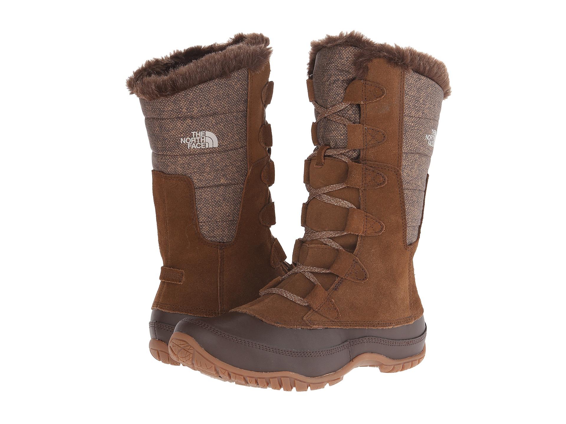 north face women;s nuptse purna shiny winter boots