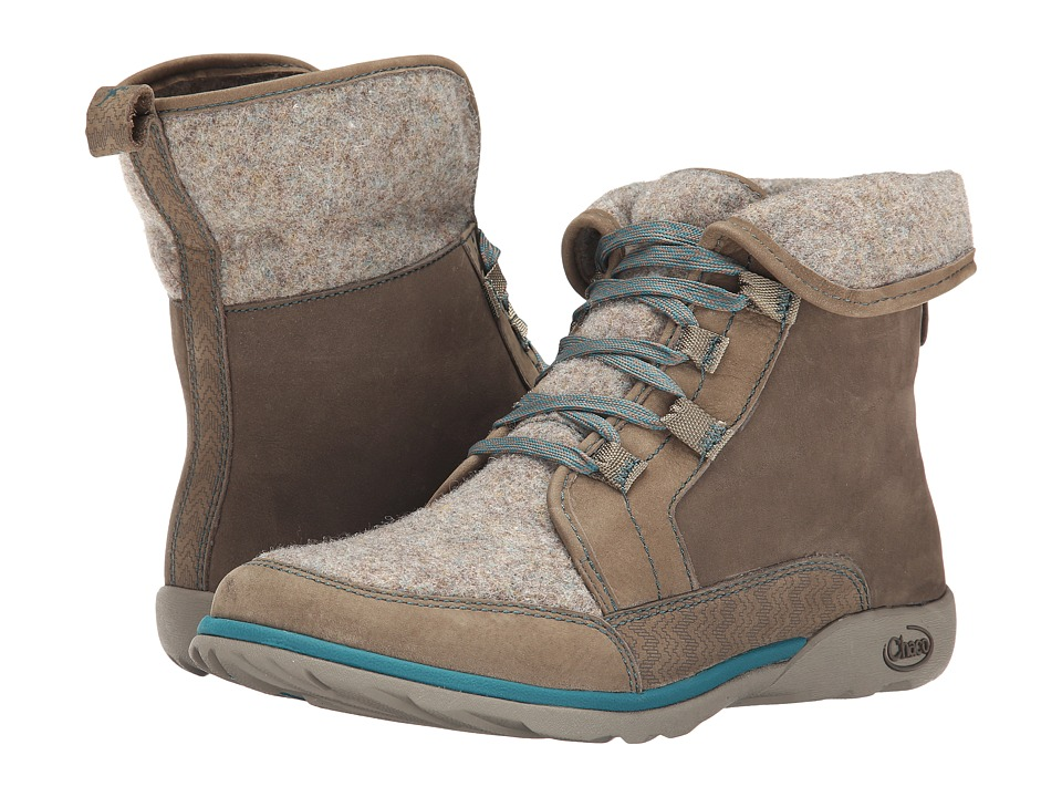 Chaco Barbary Sandstone Womens Lace up Boots