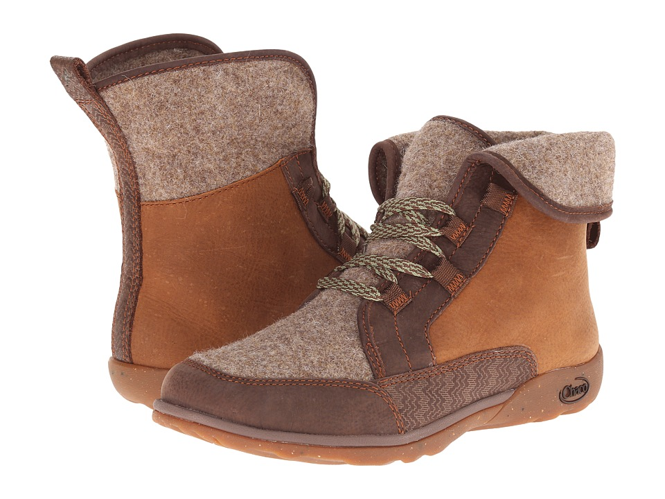 Chaco Barbary Pinecone Womens Lace up Boots