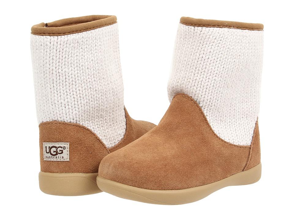 UGG Kids Dove (Toddler) (Chestnut) Girls Shoes