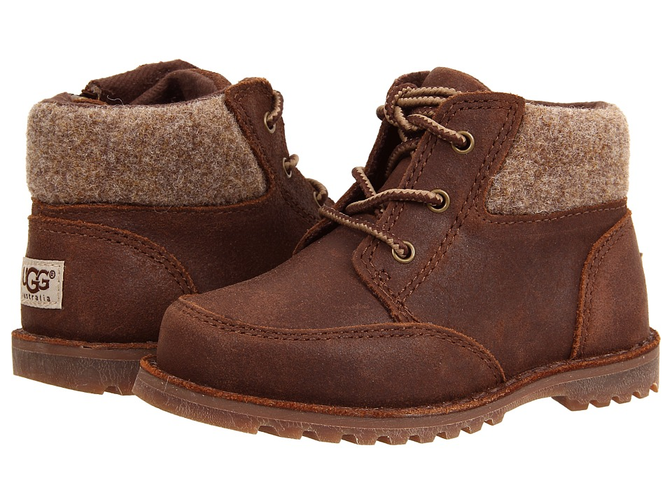 UGG Kids Orin Wool (Toddler/Little Kid) (Chocolate) Boys Shoes