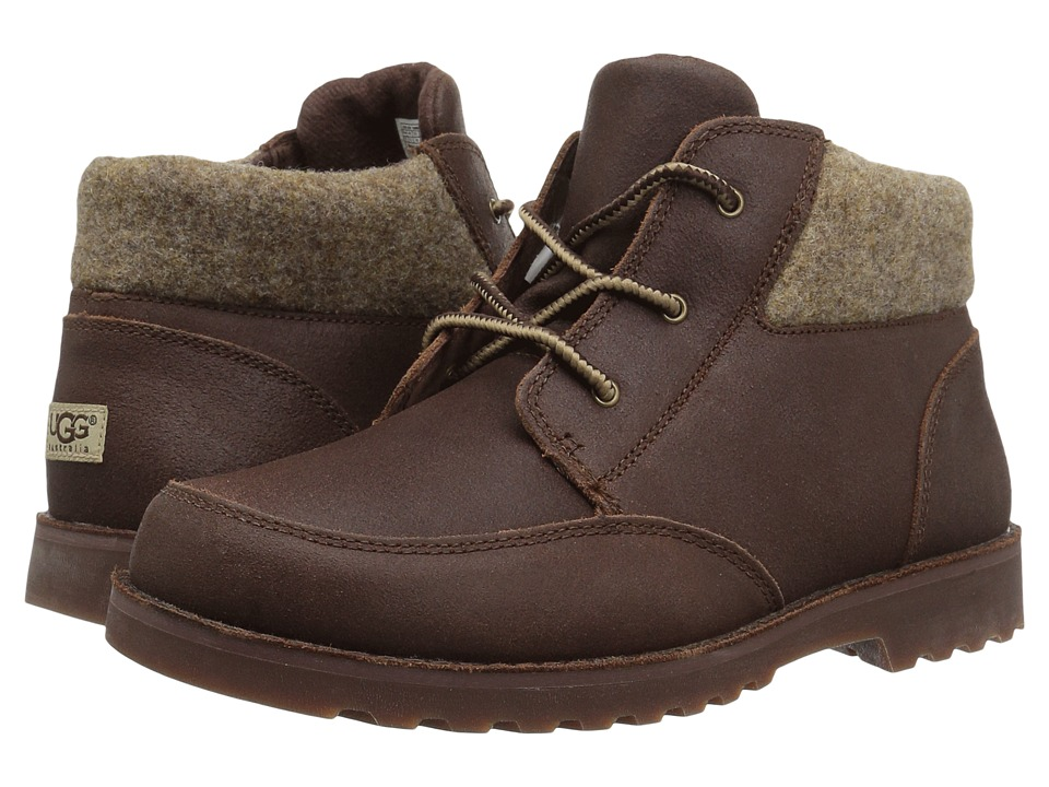 UGG Kids Orin Wool (Little Kid/Big Kid) (Chocolate) Boys Shoes