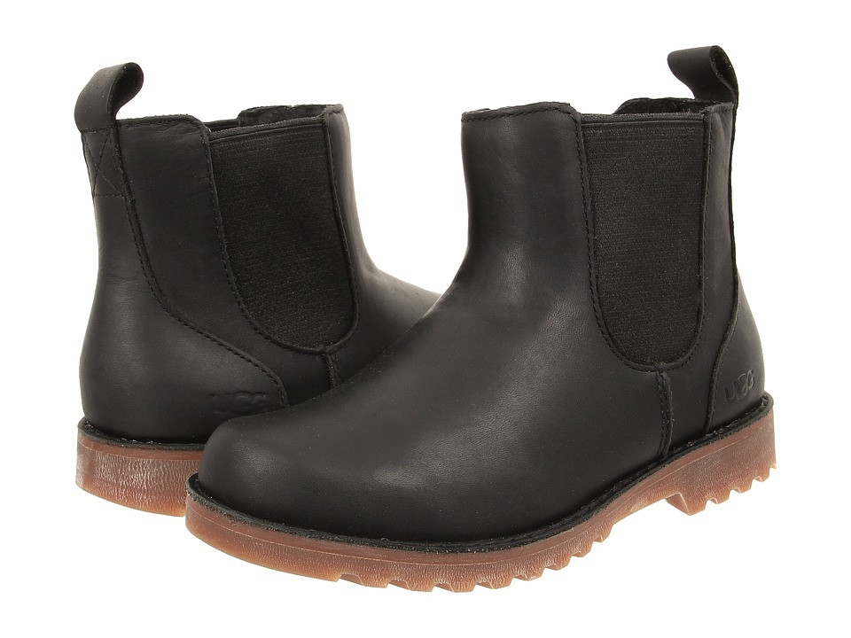 UGG Kids Callum (Little Kid/Big Kid) (Black) Boys Shoes
