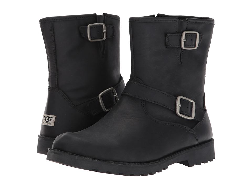 UGG Kids Harwell Little Kid/Big Kid Black Kids Shoes