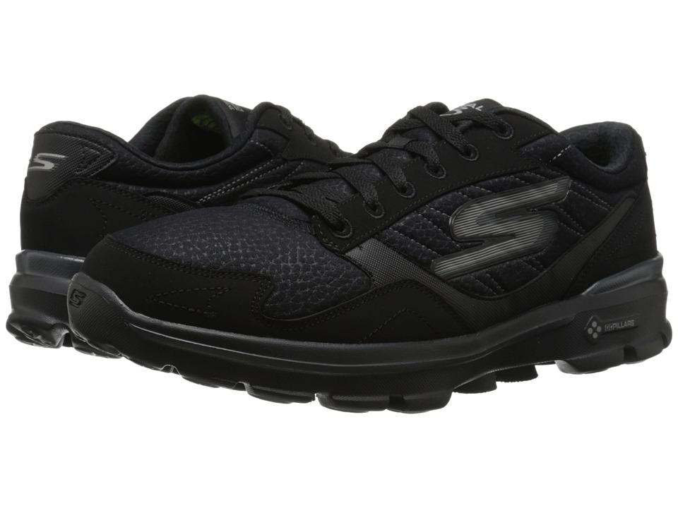 SKECHERS Performance - Go Walk 3 - LT (Black) Mens Shoes