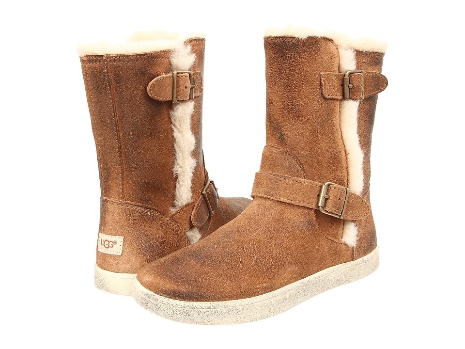 UGG Kids Barley Toddler/Little Kid/Big Kid Chestnut Girls Shoes