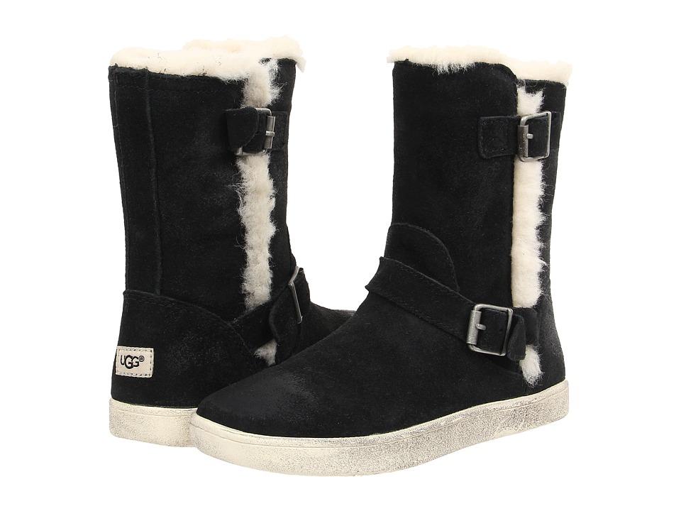 UGG Kids Barley Toddler/Little Kid/Big Kid Black Girls Shoes