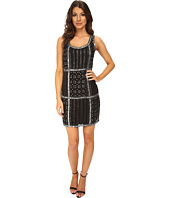 Adrianna Papell - Sleeveless Fully Beaded Cocktail Dress