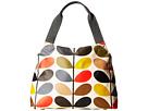 Orla Kiely Matt Laminated Classic Multi Stem Classic Zip Shoulder Bag