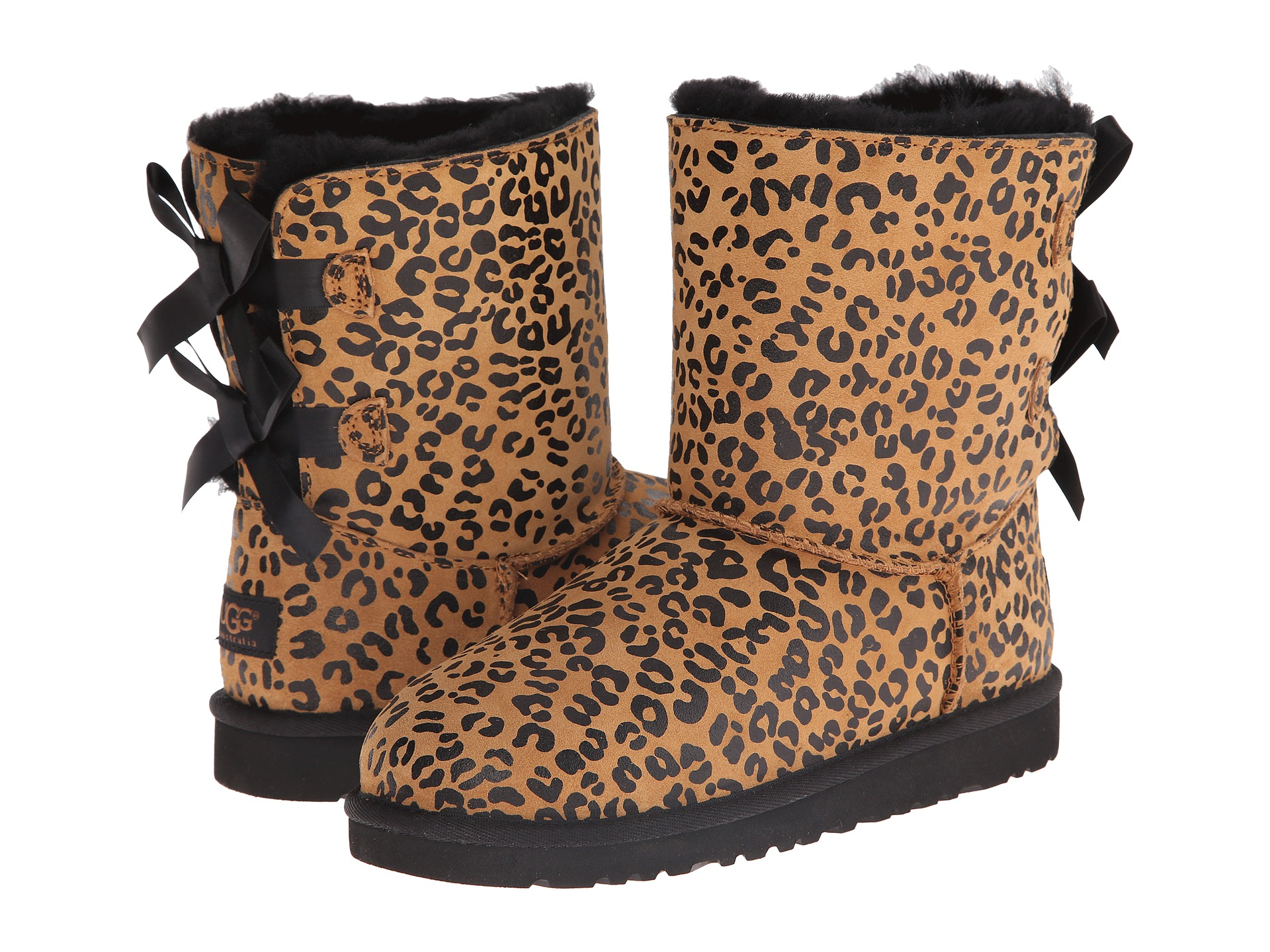 uggs bailey bow leopard