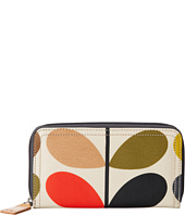 Orla Kiely - Matt Laminated Classic Multi Stem Big Zip Wallet