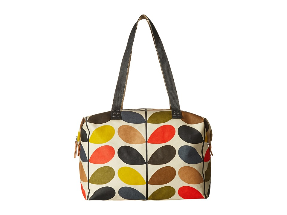 Orla Kiely - Matt Laminated Classic Multi Stem Zip Shopper (Multi) Tote Handbags
