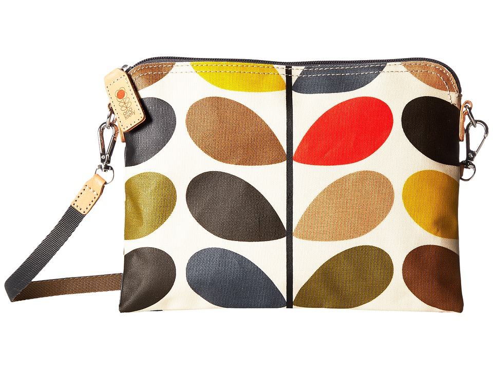 Orla Kiely - Matt Laminated Classic Multi Stem Travel Pouch (Multi) Travel Pouch