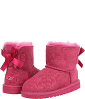 UGG Kids - Mini Bailey Bow Metallic Conifer (Little Kid/Big Kid)